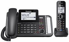 PANASONIC KX-TG9581B 2 Line Corded Cordless, Link2Cell,Expandable, Answering Sys