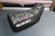 Suzuki Eiger 400 2002-07 Camo Top Logo Seat Cover #nw2186mik2185