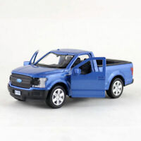 1:36 Ford F-150 Pickup Truck Model Car Diecast Toy Collection Pull Back Blue