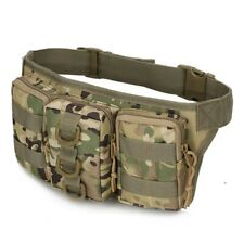 Tactical Molle Pouch Belt Waist Bag Military Outdoor Sports Pocket Waterproof