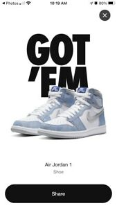 Air Jordan 1 Retro High OG Hyper Royal Size 11 555088-402