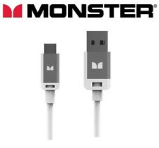 Monster High Quality Micro USB cable charging & sync Android phones, Samsung 3ft