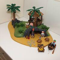 PLAYMOBIL PIRATE TURTLE COVE DESERT ISLAND No. 3799, RARE, VINTAGE