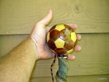 Franken-Stick twisty Wild Cherry Cane multifaceted ball handle~real vine intact