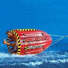 Inflatable 1 Person Towable Water Tube Ski Flotation Gyro Water Sports Gear