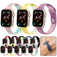 Thin Band Silicone Strap For A pple i Watch Series 5 4 3 2 1 42mm/44mm/38mm/40mm