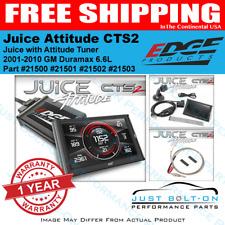 Edge Juice W/Attitude CTS2 Programmer 2001-2010 GM Chevy Duramax 6.6L Diesel