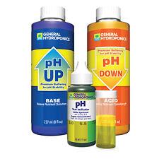 General Hydroponics pH Control Test Kit - pH up & down combo
