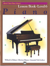 Alfred's Basic Piano Lesson Book 6; Palmer, Manus & Lethco. - 2498