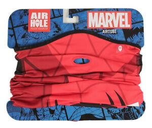 Airhole Marvel Facemask Neck Tube Balaclava - Spider-Man Size M/L