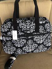 New VERA BRADLEY Medium TRAVELER Bag Travel Tote in Chandelier Noir R $118