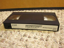 FIREBIRD II instructional VHS Radio Control Flying Plane RC 2001 Horizon Hobby