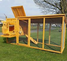 Large 8ft Cocoon Chicken Hen House Coop Poultry Ark Run 3000wxr