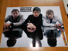 THE MUSE MATT BELLAMY MEGA RARE LOT 3 POSTER SET FROM SPANISH MAGAZINE