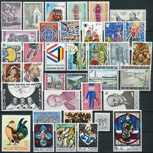 [P5470] Belgium 1969 good Complete stamps Year very fine MNH
