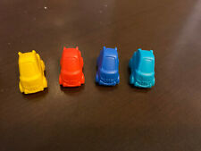 2001 Game of Life Monsters, Inc Edition Board Game Replacement 4 Car Tokens
