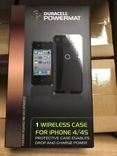 Duracell Powermat case+USB Micro A converter charging cable for iPhone 4/4s