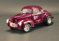 ACME 1:18 Thompson & Poole 1941 Gasser Diecast Model Car Red Burgundy A1800909