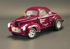 ACME 1:18 Thompson & Poole 1941 Gasser Diecast Model Car Red Burgundy A1800909