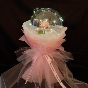 "20"" Rose Bobo Ball LED Luminous Bouquet Wedding Birthday Party Decorations 2021"