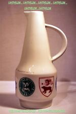 Pitcher Art Deco Porcelain German Berlin Saxe Coat of Arms & Seal High 8 5/16in