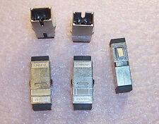 Qty (10) 1278348-6 Tyco Simplex Fiber Optic Coupler Housg Sc/Sc