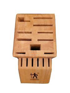 JA Henckels International Knife Block 16 Slot Wooden Knife Holder 35100-C-915