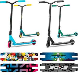 Stunt Scooter GO! Kickscooter mit ABEC 9 Kugellager SOKE verschiedene Farben