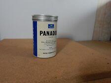 Vintage Panadol Tin large 500 size .12.5 x7.5 cms