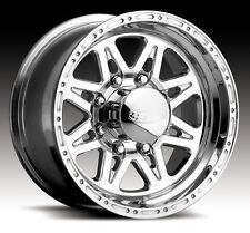 4-NEW Raceline 888 Renegade 8 16x10 8x170 -25mm Polished Wheels Rims