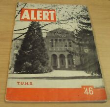 "1946 POST WWII Era Annual/Yearbook~""ALERT""~Turlock Union High School~CA"
