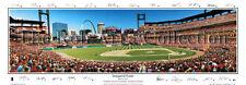 St Louis Cardinals BUSCH STADIUM INAUGURAL 2006 Panoramic POSTER w/26 Facs. Sigs