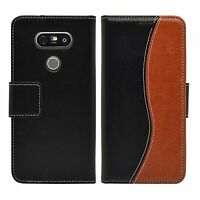 Membrane LG G5 Case Leather Flip Cover Purse Wallet S-Line Book Style Shockproof