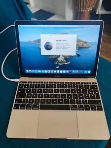 Apple MacBook (Retina, 12 pouces, Core M 1.1 Ghz, SSD 256 Go, 8 Go DDR3, Azerty)