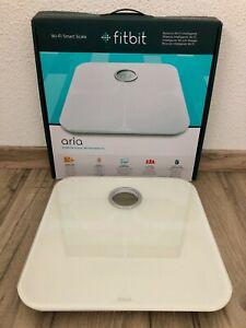 Fitbit Aria Wi-Fi Smart Scale / Intelligente WLAN-Waage weiß