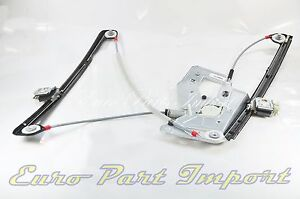 BMW Right Front Passenger Door Window Regulator Germany Genuine OE 51338252394