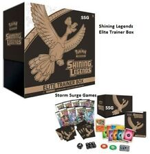 POKEMON SHINING LEGENDS TCG SUN & MOON ELITE TRAINER BOOSTER BOX set
