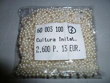 2600 Stück Perlen 3mm Cultura Imitat  erstklassige Qualität Nr. 3