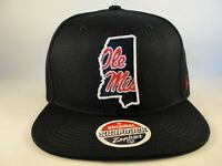 Ole Miss Rebels NCAA Zephyr Snapback Hat Cap Statement