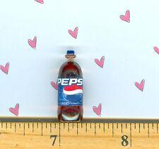 Dollhouse Miniature Size Cola Pop Bottle # Pepsi