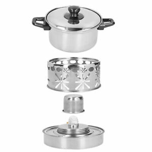 Stainless Steel Hot Pot Stove Hot Pot Stove Firm Strong For Home Outdoor Camping