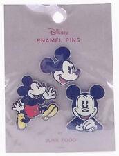 Disney Mickey Mouse Enamel Pin Set By Junk Food