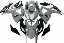 Aftermarket Fairing kits fit forSuzuki gsxr600/750 06-07 2006 2007 Silver colors