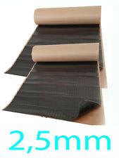 Alubutyl 4 qm Bitumen-Ersatz Anti Dröhn Dämmmatte 2,5mm Dicke