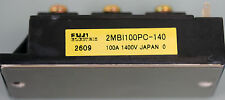 Fuji Electric model 2MBI100PC-140, Transistor module.