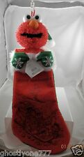 Elmo  Plush Christmas stocking Sesame street big bird bert ernie