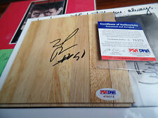 Zach Randolph auto PSA/DNA COA 4x4 Floor board autographed signed LONG TIME star