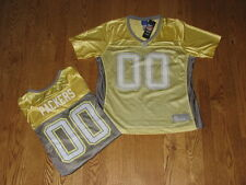 New Womens Ladies Green Bay Packers NFL Reebok Team Sparkly Jersey Size S Small