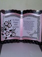 PERSONALISED HANDMADE BOOKATRIX BIRTHDAY CARD, ANNIVERSARY, 18TH, 21ST, ECT