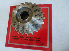 Regina Titanio Freewheel Titanium 5 Speed 14-22 All Cogs Vintage LAST ONE NOS